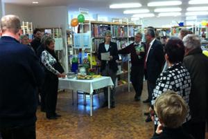 50 Jahr Feier Stadtbibliothek Bessungen am  25.02.2011